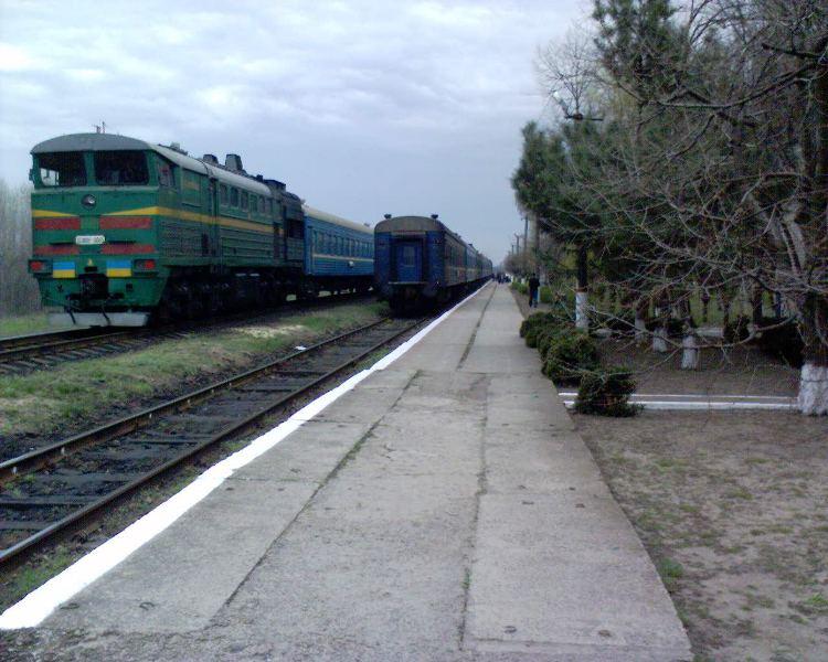 Станція Великі Копані