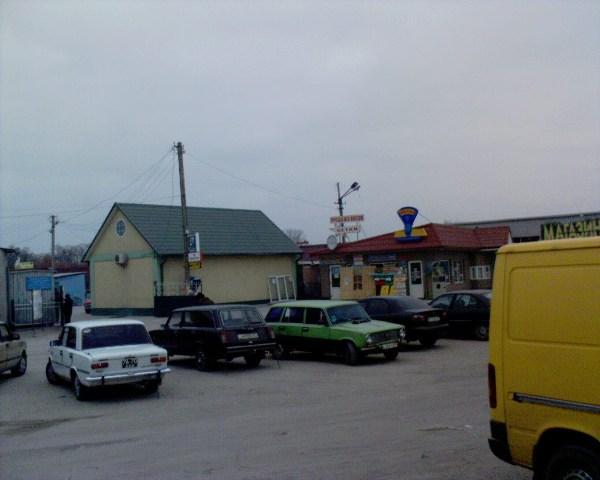 На пром рынке в Копанях